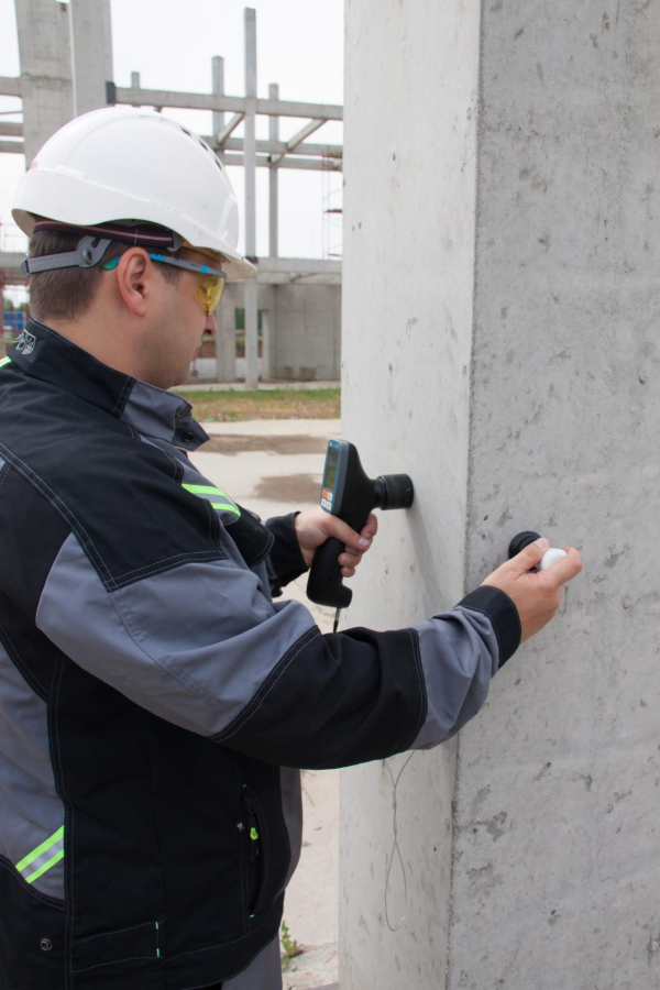 concrete testing A1410 PULSAR