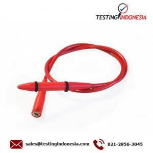Thin pipe electrode for internal pipe inspection